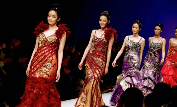 Lu Weixing Dress Collection - Runway -  China Fashion Week F/W 2013-2014