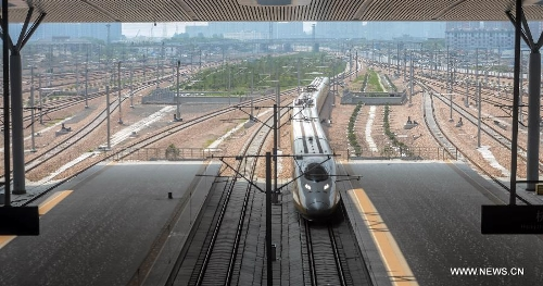 Nanjing-Hangzhou-Ningbo high-speed rail lines begin trial operations