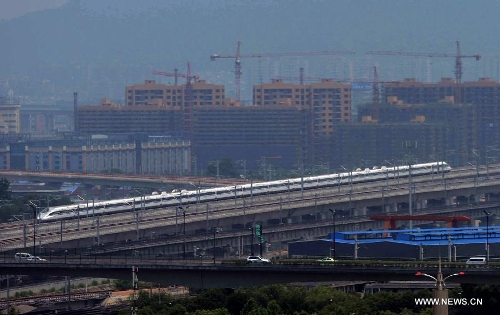 Nanjing-Hangzhou-Ningbo high-speed rail lines begin trial operations1