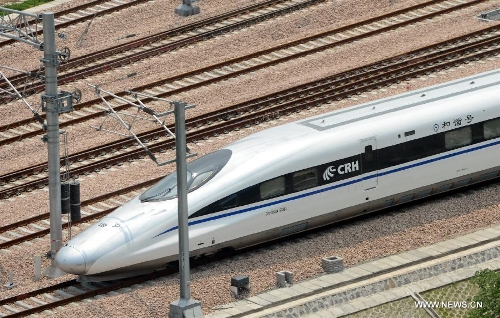 Nanjing-Hangzhou-Ningbo high-speed rail lines begin trial operations2