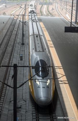 Nanjing-Hangzhou-Ningbo high-speed rail lines begin trial operations3