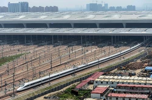 Nanjing-Hangzhou-Ningbo high-speed rail lines begin trial operations4