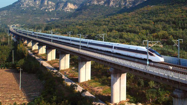 il nuovo treno fuxing