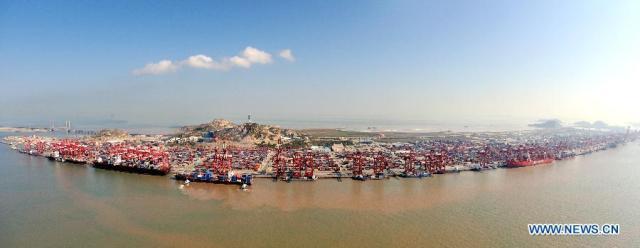 yangshan port2