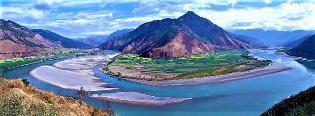fiume azzurro