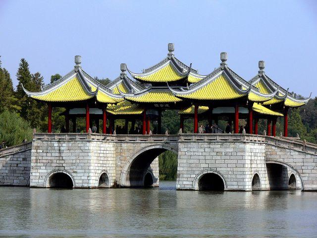 Five pavilion bridge