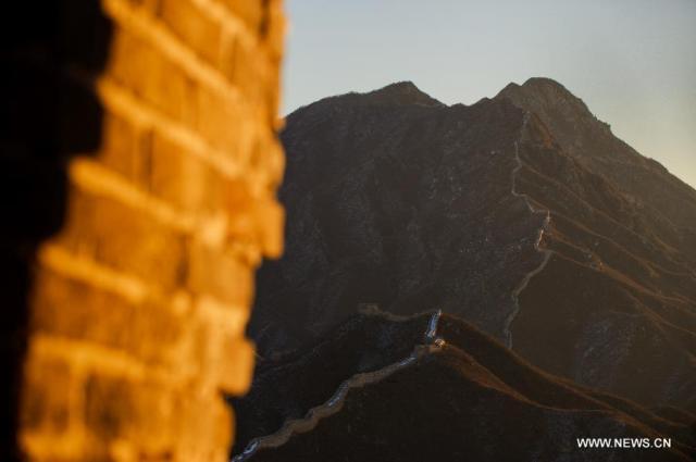 huanghuacheng lakeside great wall beijing