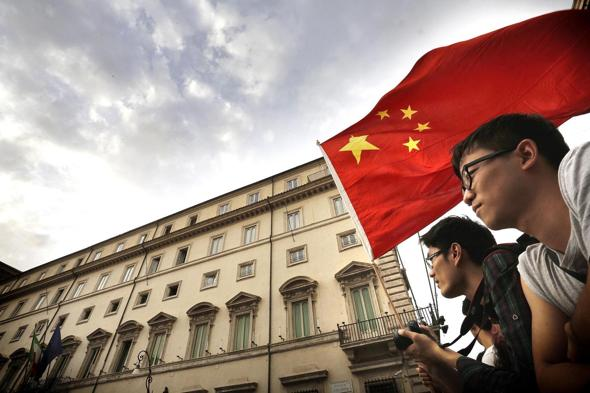 Italia-Cina: Renzi accoglie premier Li Kegiang a P. Chigi
