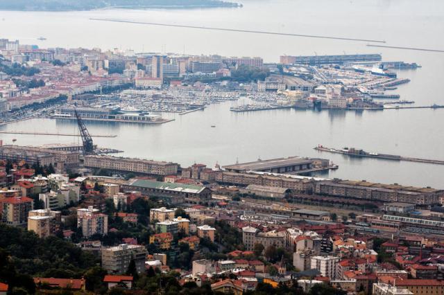 Panoramica del porto