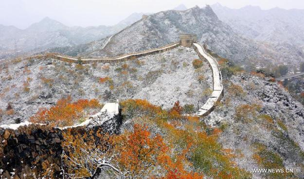 Hefangkou section of the Great Wall in Huairou District of Beijing2