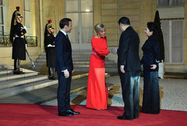 Chinese President Xi Jinping - State Dinner - Paris