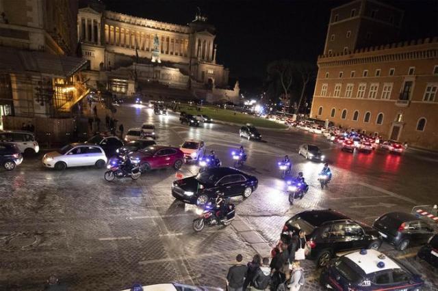 Xi a Roma: il presidente arrivato in hotel